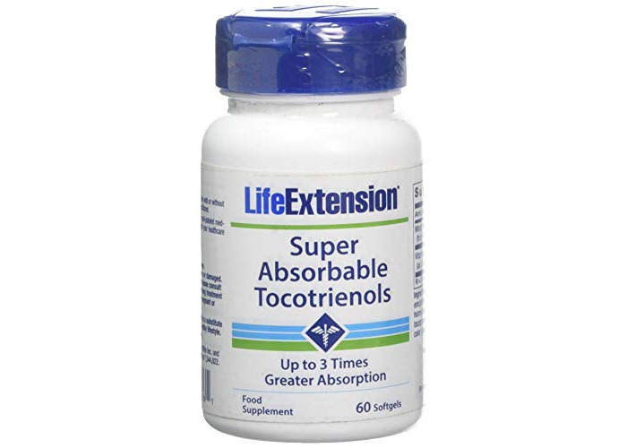 Life Extension Europe Super-Absorbable Tocotrienols Soft Gels, 60-Count - 1