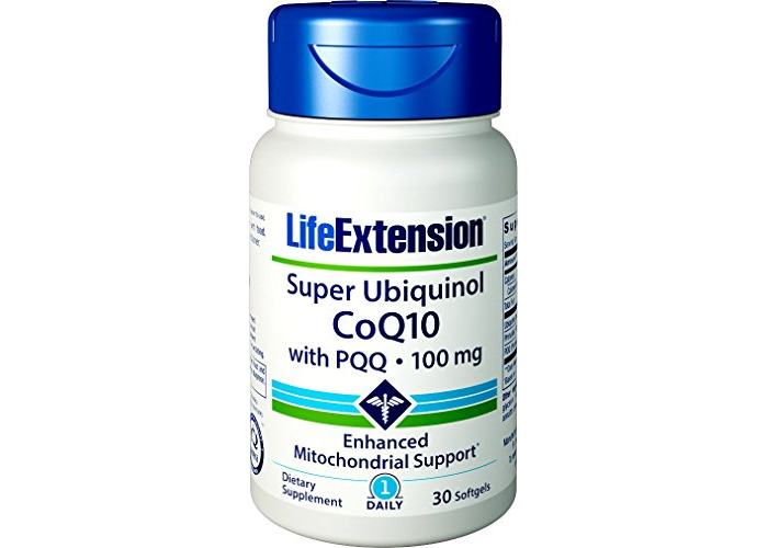 Life Extension Super Ubiquinol CoQ10 with BioPQQ, Non-GMO, 100mg, 30 Softgels - 1