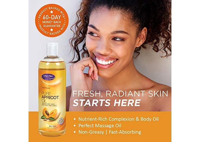 Life-Flo Oil, Pure Apricot, 16 Ounce - 2