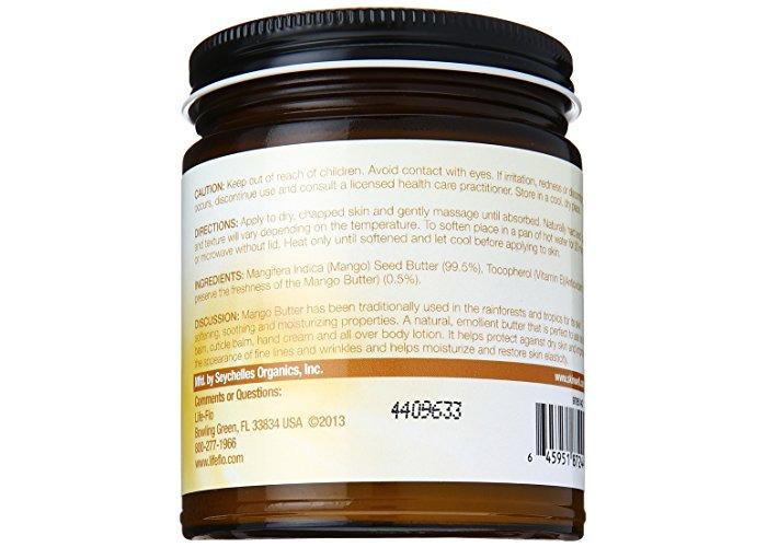 Life-Flo Pure Mango Butter, 9 oz - 2