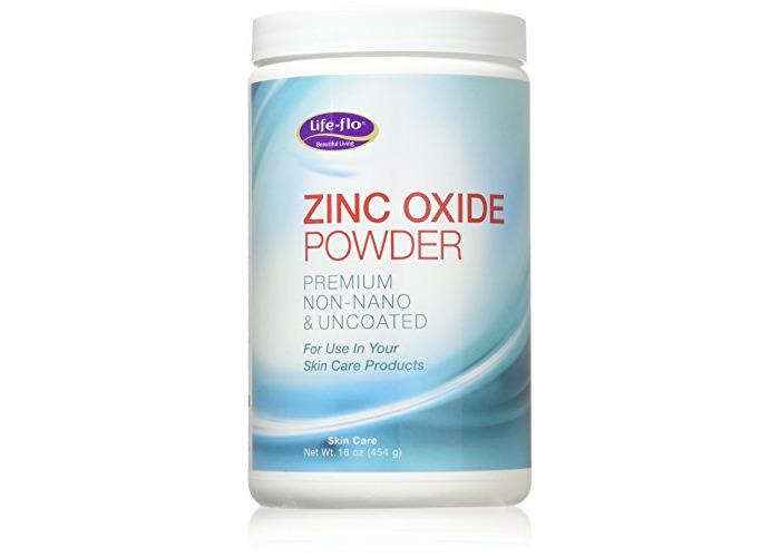 Life-Flo Zinc Oxide Powder, Fine Powder (Jar) 16oz - 1