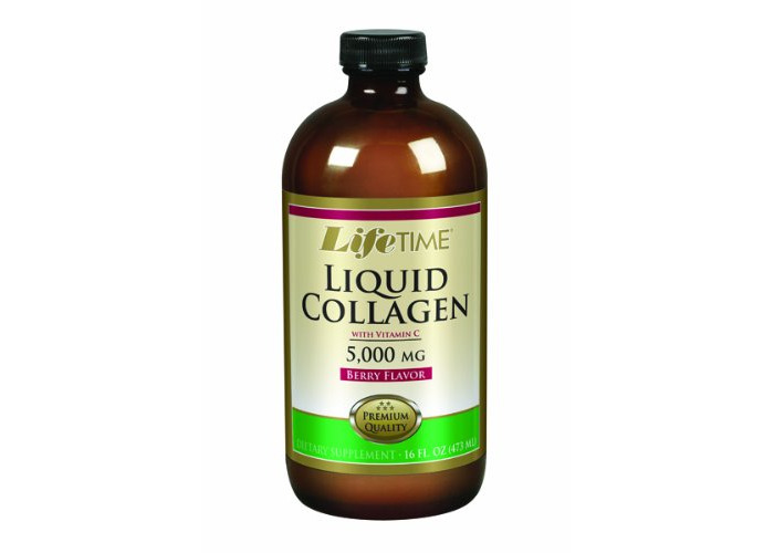 Lifetime Liquid Collagen with Vitamin C Berry 16 fl.oz - 1
