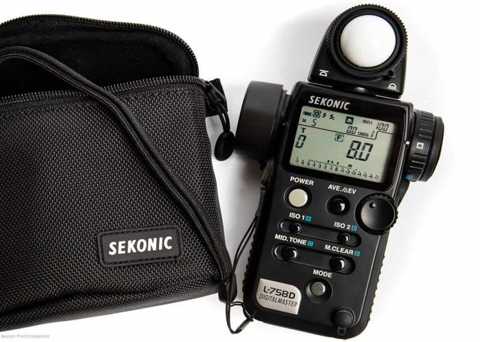 Light meter Sekonic L-758D Digital Master - 1