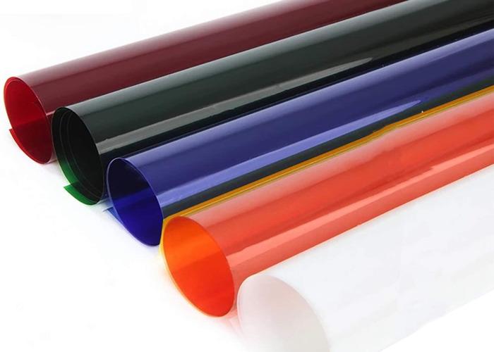 "Lighting filter gels. CTB / CTO (full) 21x48""  - 1"