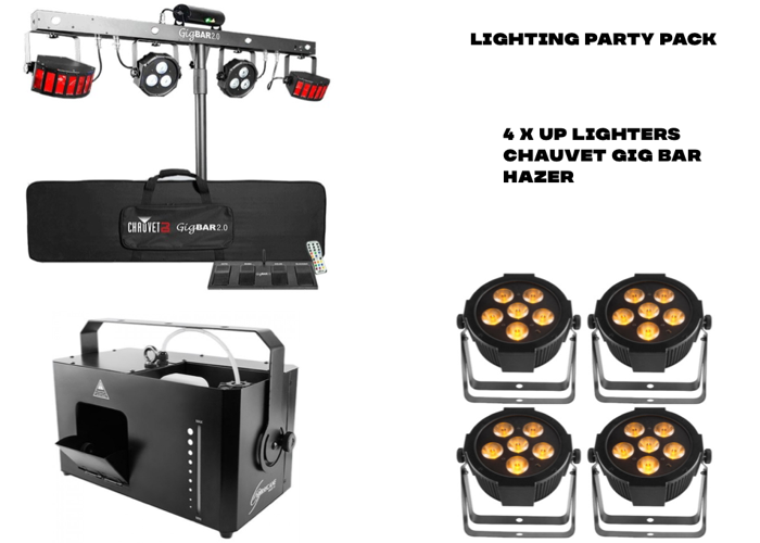 Lighting Party Pack - 1