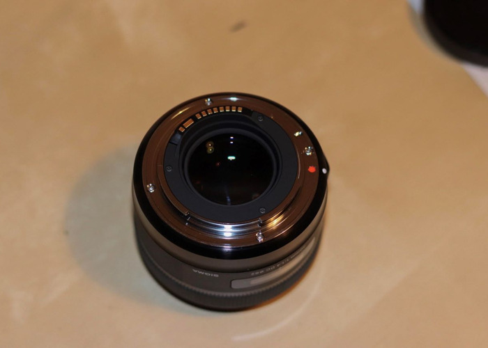 LIKE NEW - Sigma Art Lens 30mm f1.4 for Canon EF-S - 2