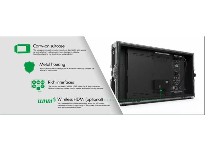 """Lilliput 16"""" (BM-150) 4K Video Monitor (SDI, HDMI, VGA and More) - 2"""
