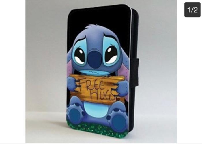 Lilo And Stitch Free Hugs Disney FLIP PHONE CASE COVER - 1