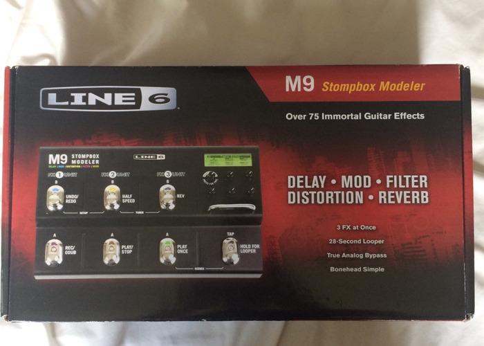 Line 6 M9 Stompbox Modeler Pedal - 1