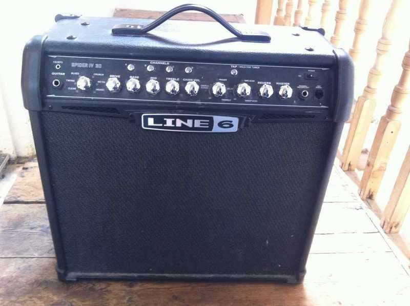 Line 6 Spider IV 30 Watt Guitar Combo Amp