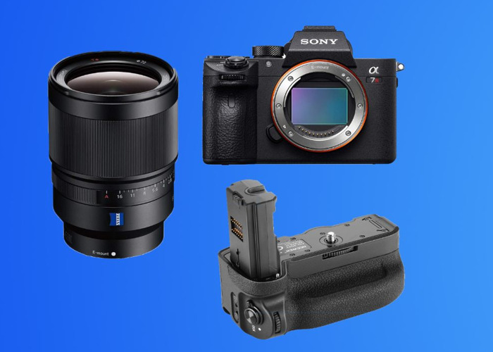 Sony A7R3 ( iii ) Package (2) + Zeiss 35mm F1.4 Prime Lens +96GB Memory + 3 Batteries + Battery Grip *Full Frame, 4K Video Capable Camera Kit* A7Riii - 1