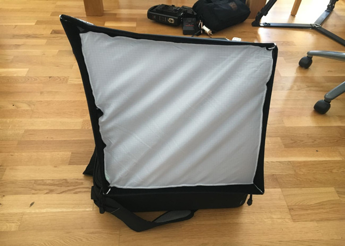 Litepanel 1 x 1 daylight w softbag  - 2