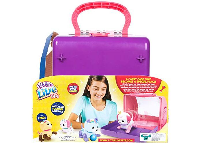 Little Live Pets 28493 Lil' Precious Pups Carry Case - 2