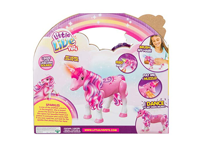 Little Live Pets 28683 Sparkles My Dancing Unicorn, Multi - 2