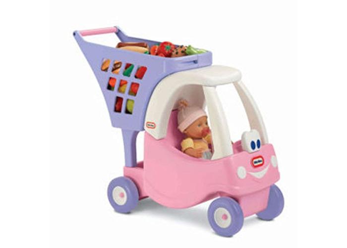 little tikes 620195 Shopping Cart, Pink - 1
