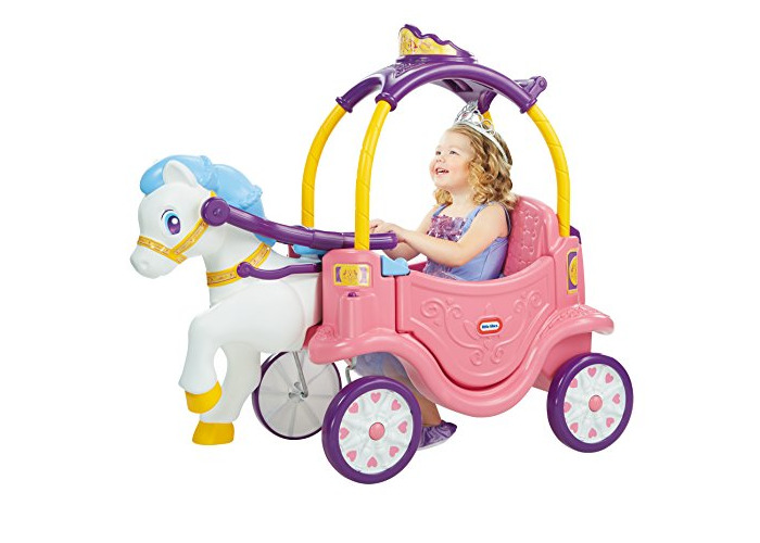 Little Tikes Princess Horse and Carriage - 1