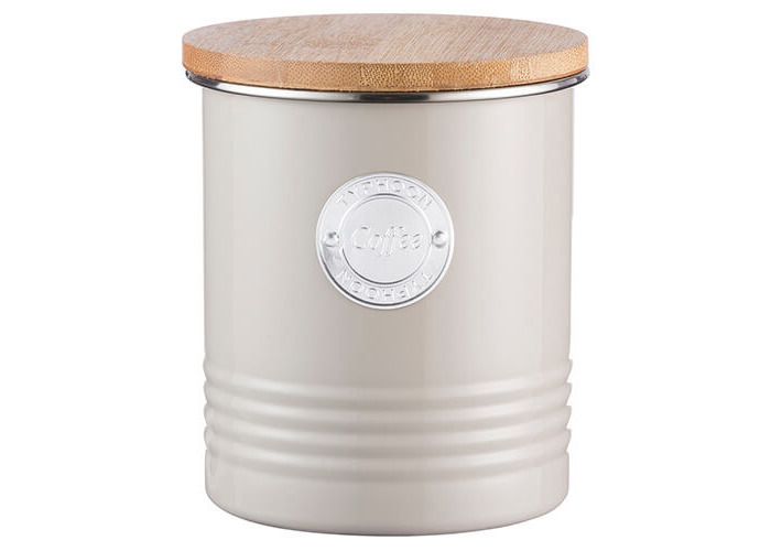 Living Coffee Canister 1L (Putty) - 1