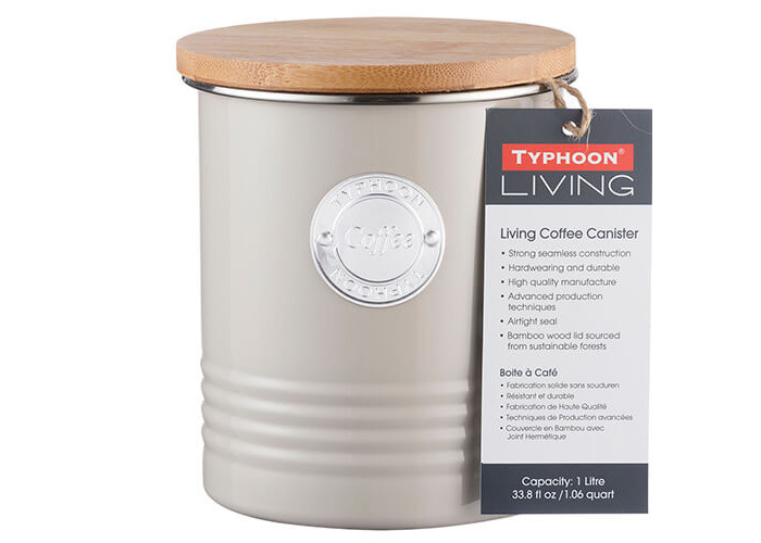 Living Coffee Canister 1L (Putty) - 2