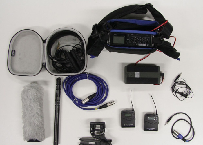 Location Sound Kit (Zoom F4) - 1