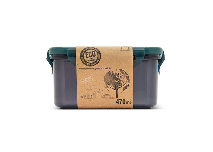 Lock & Lock Eco 470ml Rectangular Storage Container - 2