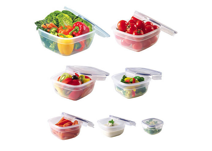 Lock & Lock Storage Container - Set of 7 Pieces - Clear - 2