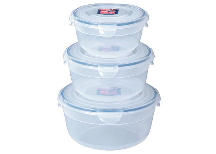 Lock/& Lock Food Storage 3 Bowl Nestable Set - 2