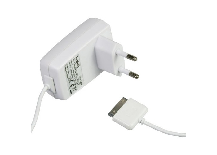 Logic3 AC Adapter for iPhone iPod and iTouch - 1