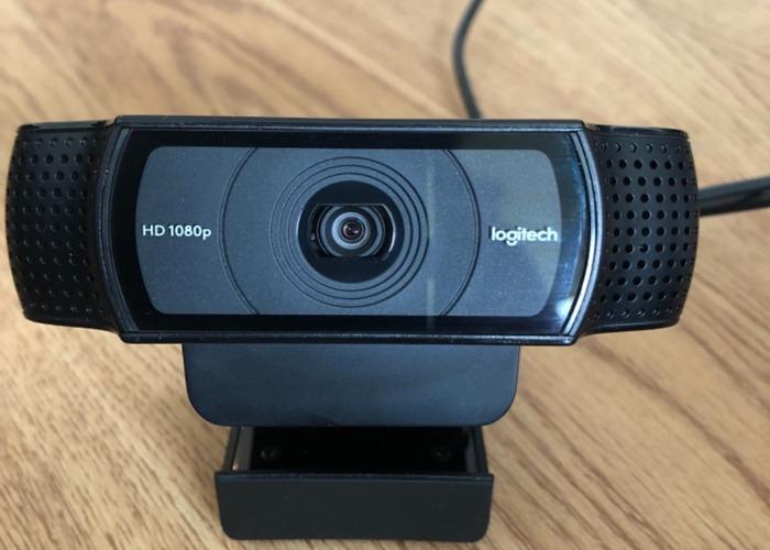 290e28ec254 Rent Logitech C920 HD Pro USB 1080p Webcam in London | Fat Llama