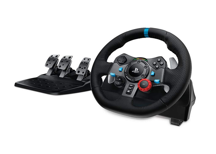 Logitech G29 Steering Wheel and Pedals for PS4/PS3/PC - 1