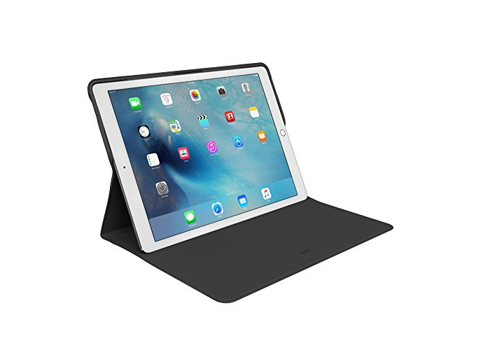 Logitech iPad Pro 12.9-inch Keyboard Case, Create with Backlit Wireless Keyboard and Smart Connector 1st Generation (QWERTZ German Layout) - Black - 1