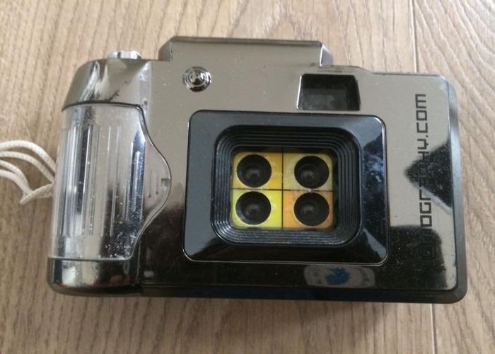 Lomography ActionSampler Fixed Focus 4-Lens 35mm Viewfinder  - 1