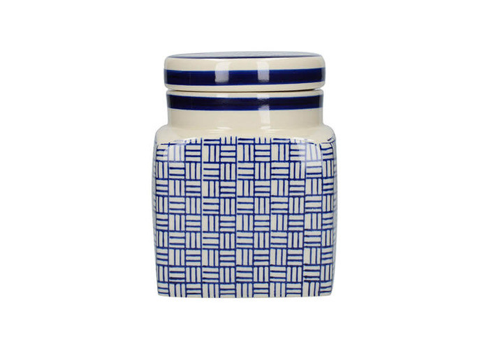 London Pottery Ceramic Canister Lattice - 1