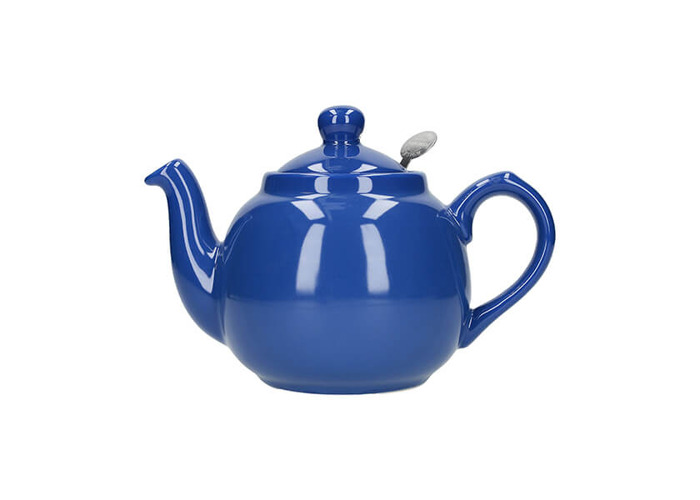 London Pottery Farmhouse Filter 2 Cup Teapot French Blue - 1