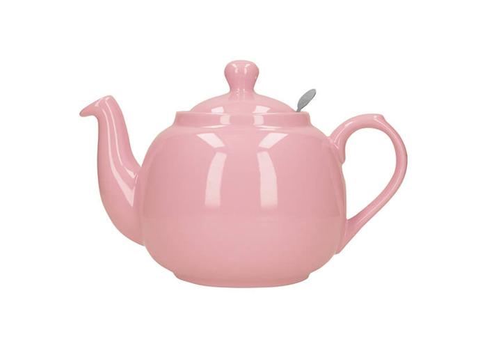 London Pottery Farmhouse Filter 4 Cup Teapot Pink - 1