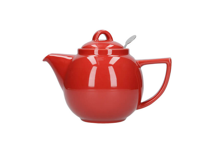 London Pottery Geo Filter 2 Cup Teapot Red - 1