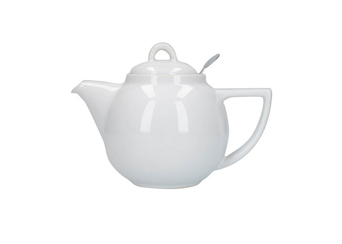 London Pottery Geo Filter 2 Cup Teapot White - 1