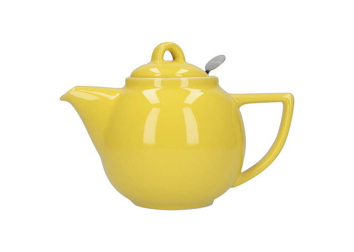 London Pottery Geo Filter 4 Cup Teapot Lemon - 1