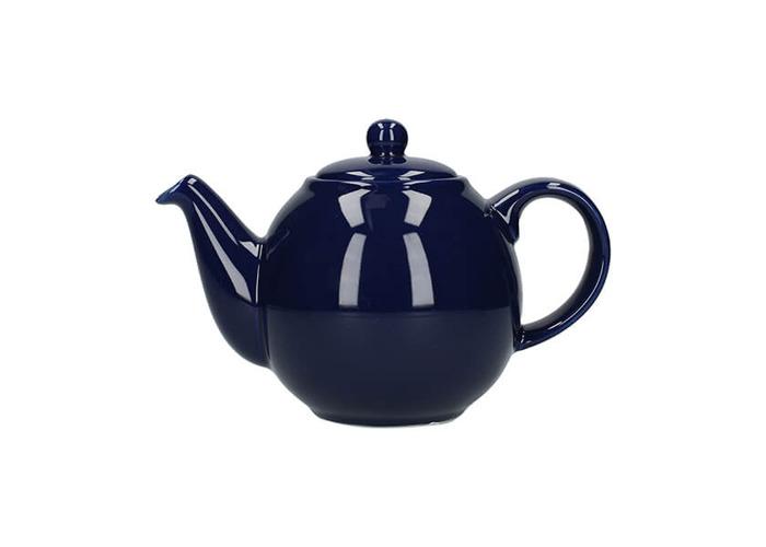 London Pottery Globe 2 Cup Teapot Cobalt Blue - 1