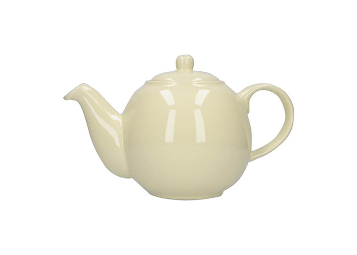 London Pottery Globe 4 Cup Teapot Ivory - 1