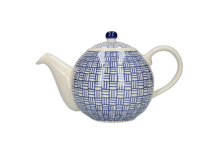London Pottery Medium Globe Teapot 6 Cup Capacity Cactus Green