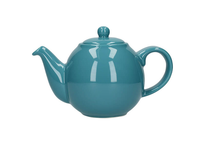 London Pottery Globe 6 Cup Teapot Aqua - 1