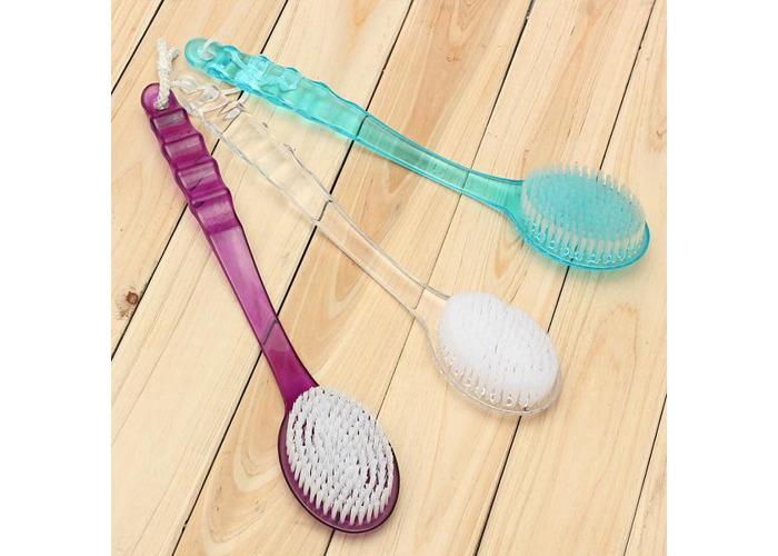 Long Handled Body Bath Shower Massager Back Skin Cleaning Brush - 2