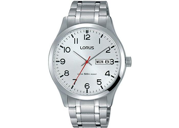 Lorus RXN39DX9 Mens Gents Stainless Steel Bracelet Wrist Watch Analog Date - 1