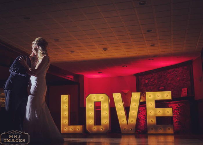 LOVE SIGN - Vintage LED Bulbs 4ft Letters Marquee Heavy Duty - 2