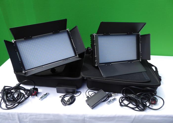 LS LED576ASVLK-2 Bi-Colour LED Light Panel x 2 - 1