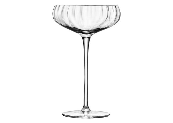 LSA Aurelia Champagne Saucer 300ml Set Of Four - 2