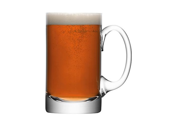 LSA Bar Beer Tankard 750ml   LSA Handmade Glass, Beer Mug - 1