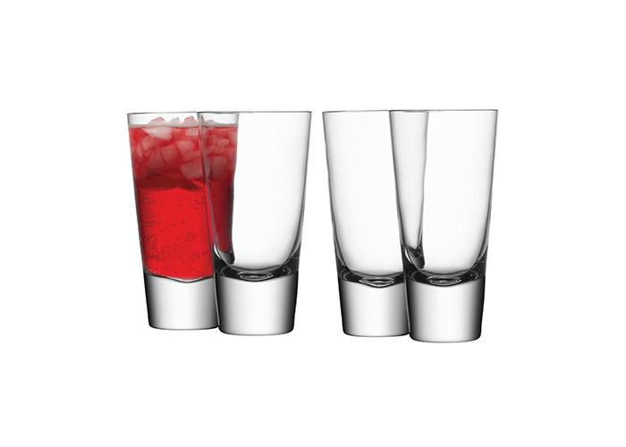 LSA Bar Long Mixer Glasses 11.1oz / 315ml - Pack of 4 | LSA Handmade Glassware, Hiball Glasses - 1