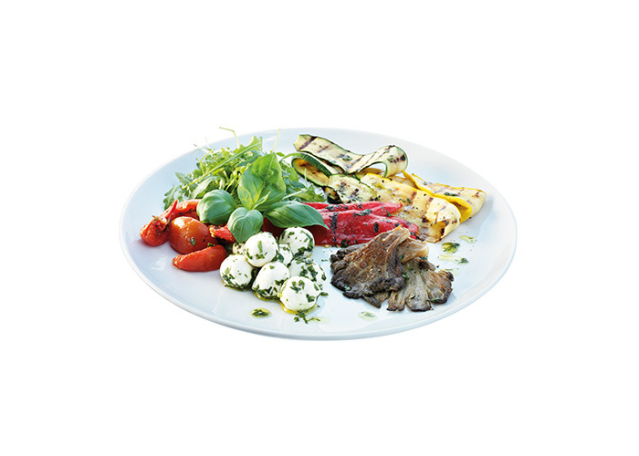 LSA Dine Coupe Charger/Serving Plate 2x31cm Plates - 2