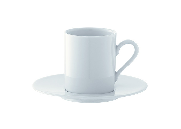 LSA Dine Espresso Cup & Saucer Straight 0.09L Set Of 4 - 1